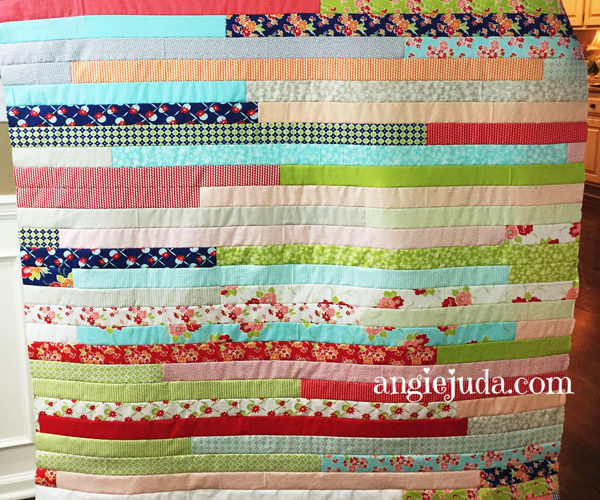 Jelly Roll Quilt Video