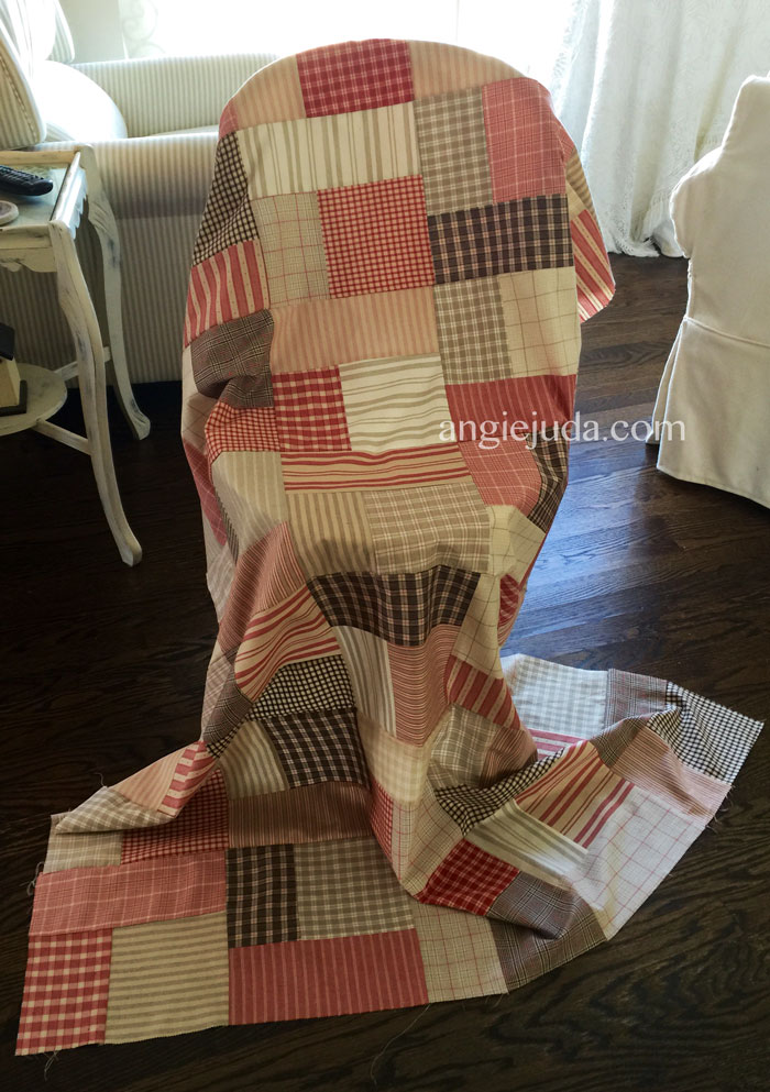 Layer Cake Quilt Complete
