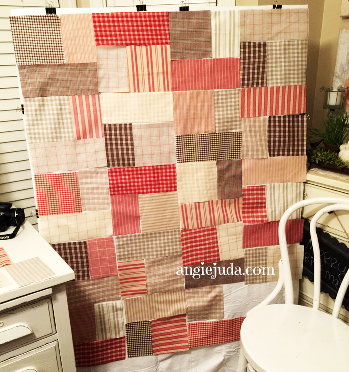 Layer Cake Quilt Update