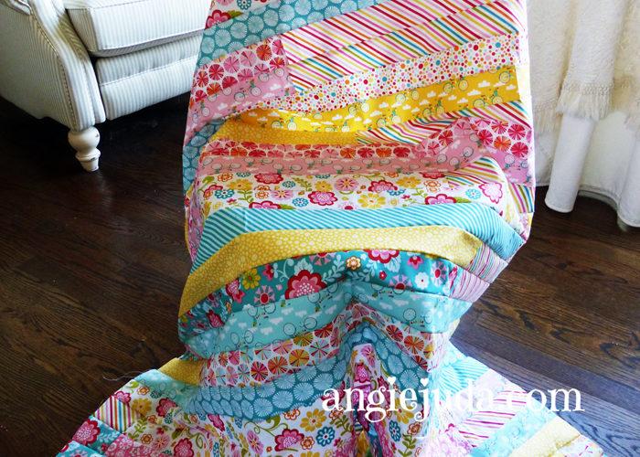 Fancy Free Jelly Roll Quilt