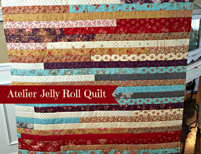 Atelier Jelly Roll Quilt