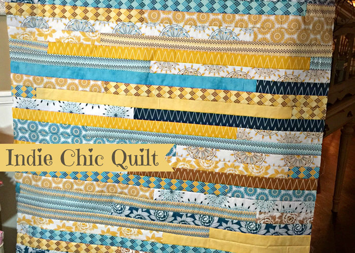 Indie Chic Quilt Top