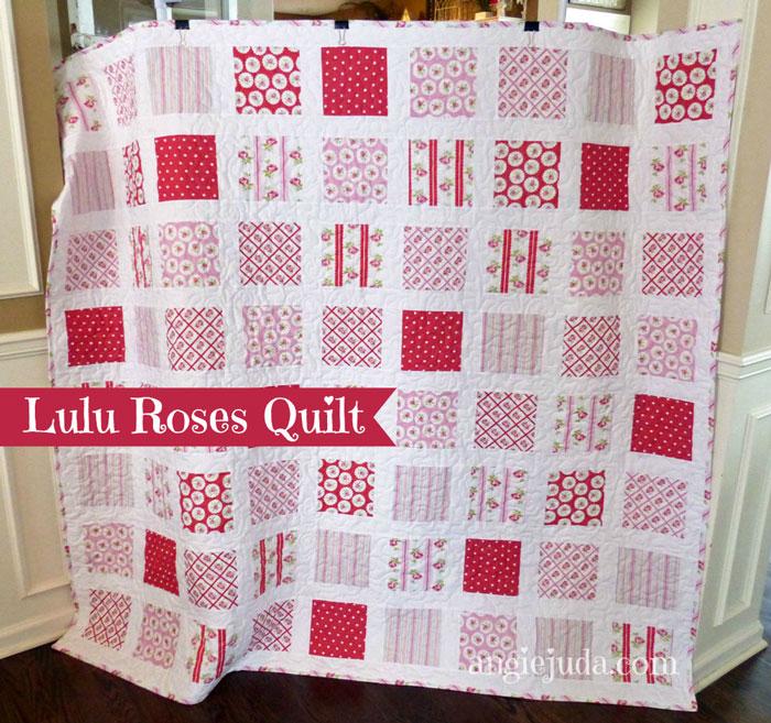 Lulu Roses Quilt