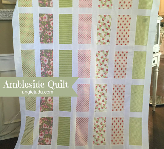 Ambleside Quilt Top