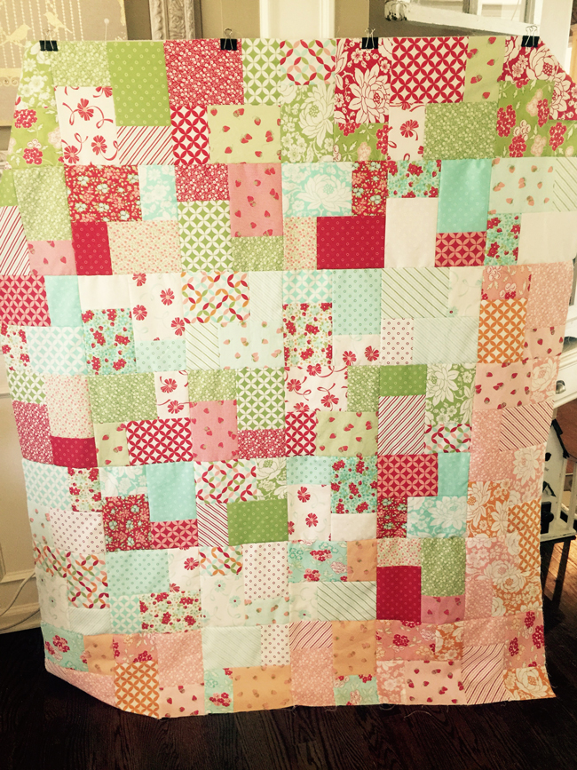 Double Slice Layer Cake Quilt : double layer cake quilt - Adamdwight.com