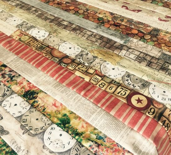 Eclectic Elements Jelly Roll Quilt