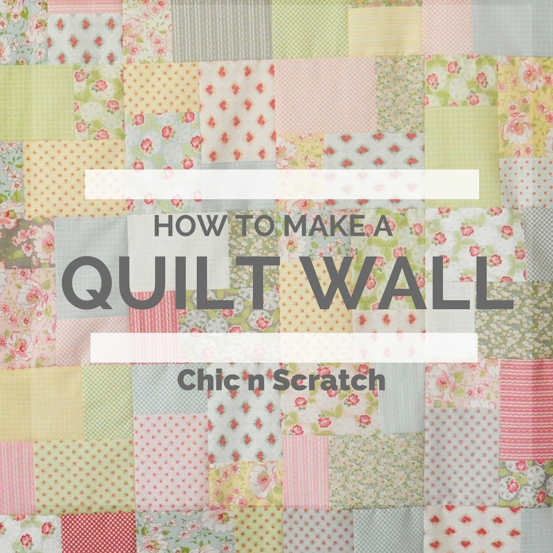 How To Make a Quilt Wall