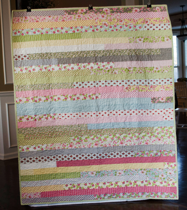 Ambleside Jelly Roll Quilt Complete