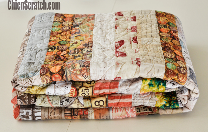 Kyle's Jelly Roll Quilt