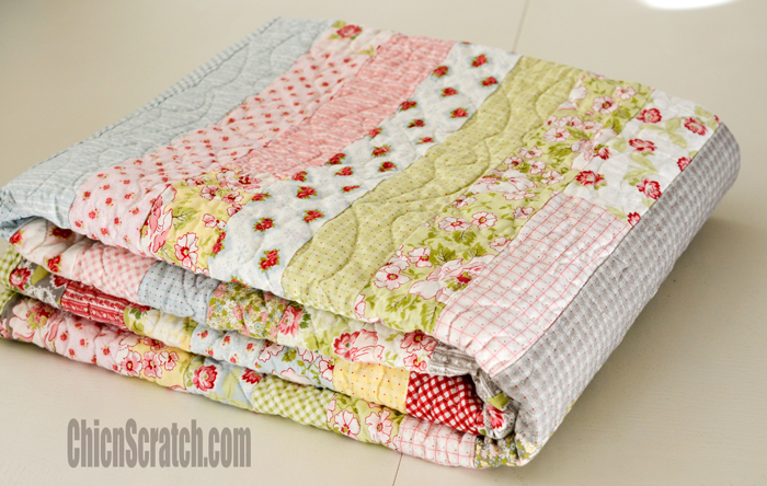 Jelly Roll Race Quilt Along Video 4