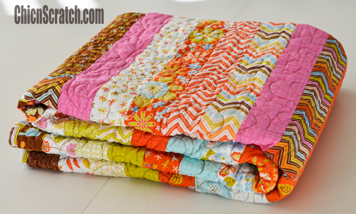 Deanna's Jelly Roll Quilt