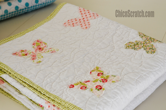 Kim's Butterfly Quilt