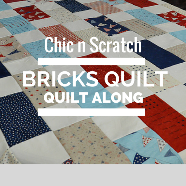 Bricks Quilt - Quilt Along