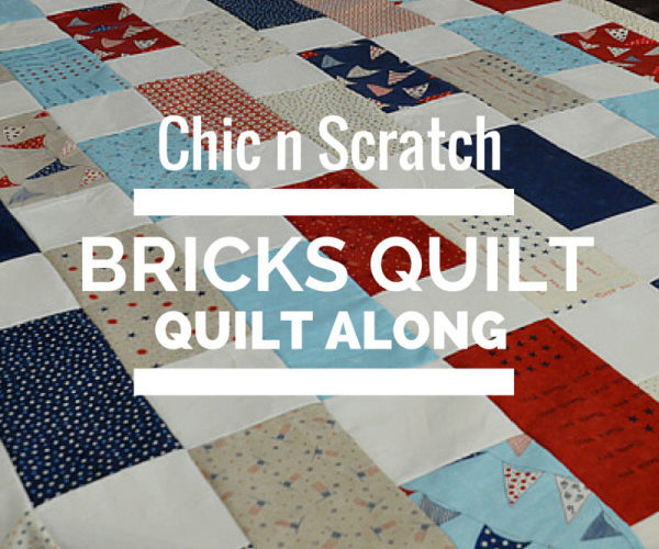 Bricks Quilt – Quilt Along Video 1