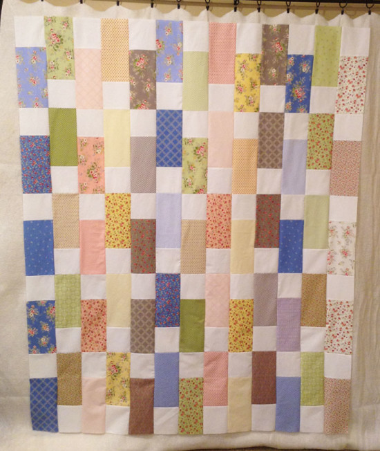 Windermere Brenda Riddle Designs Bricks Quilt