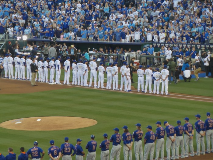 Royals and Mets April 3, 2016