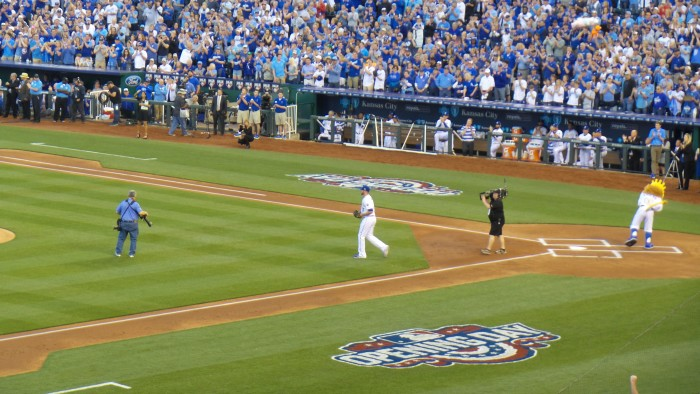 Wade Davis Royals and Mets April 3 2016