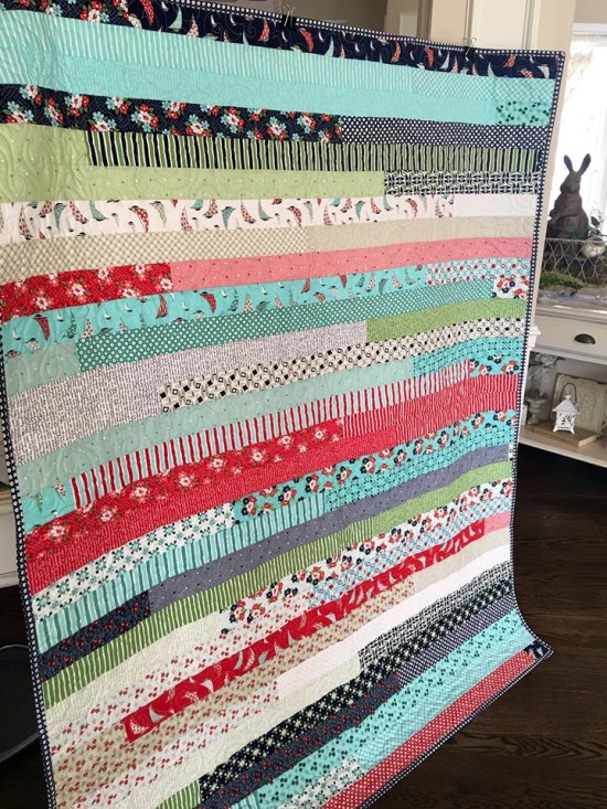 DAYSAIL JELLY ROLL QUILT