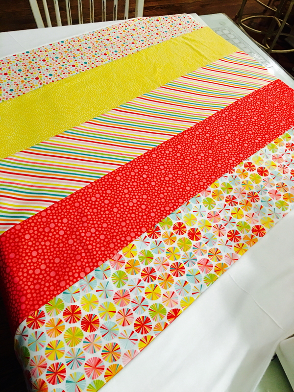 Serger Quilt Rows