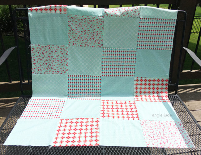 Fat Quarter Quilt Along Video 3
