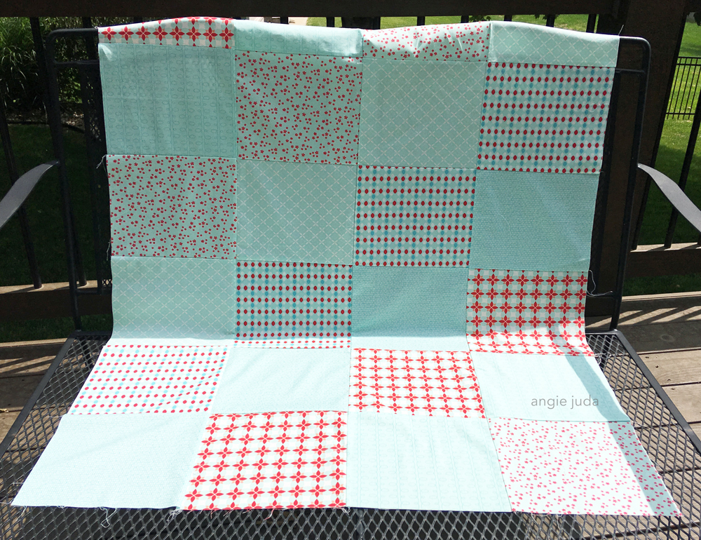Fat Quarter Quilt Along Video 2