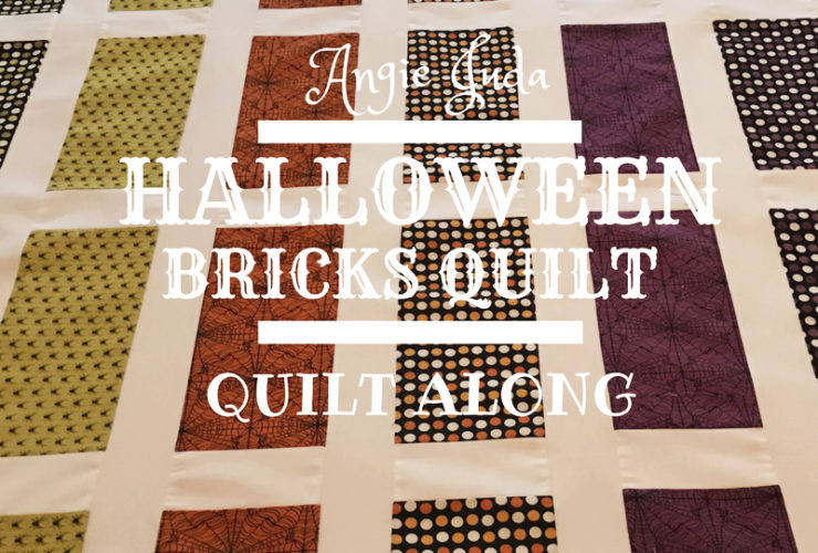 Halloween Bricks Quilt Along