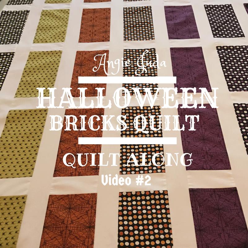 Halloween Bricks Quilt Along Part 2