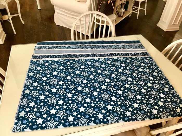 First Quilt in 2018